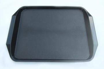 Rectangular tray with handle