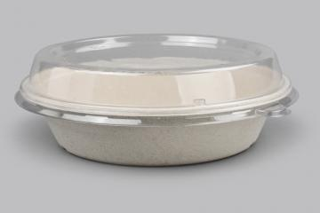 Microwaveable Food Tray w/lid